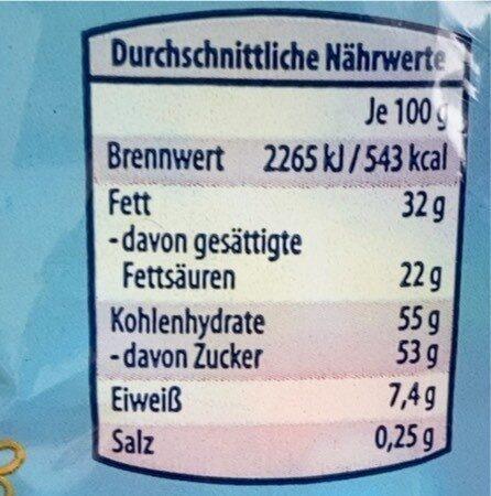 Osternestmischung - Valori nutrizionali - de