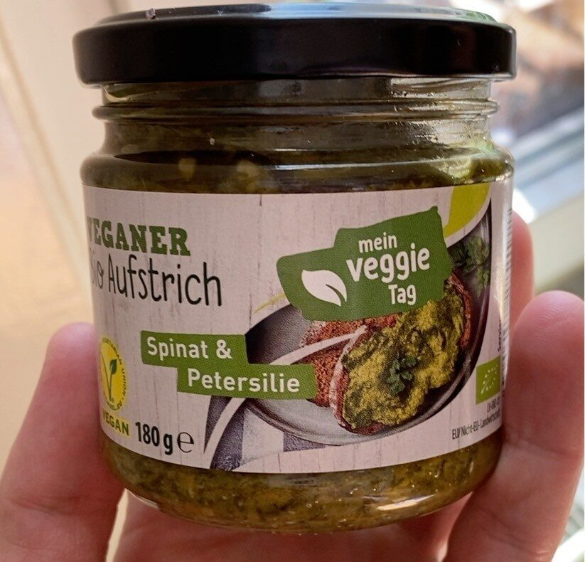 Veganer Bio Aufstrich - Spinat & Petersilie - Produit - de