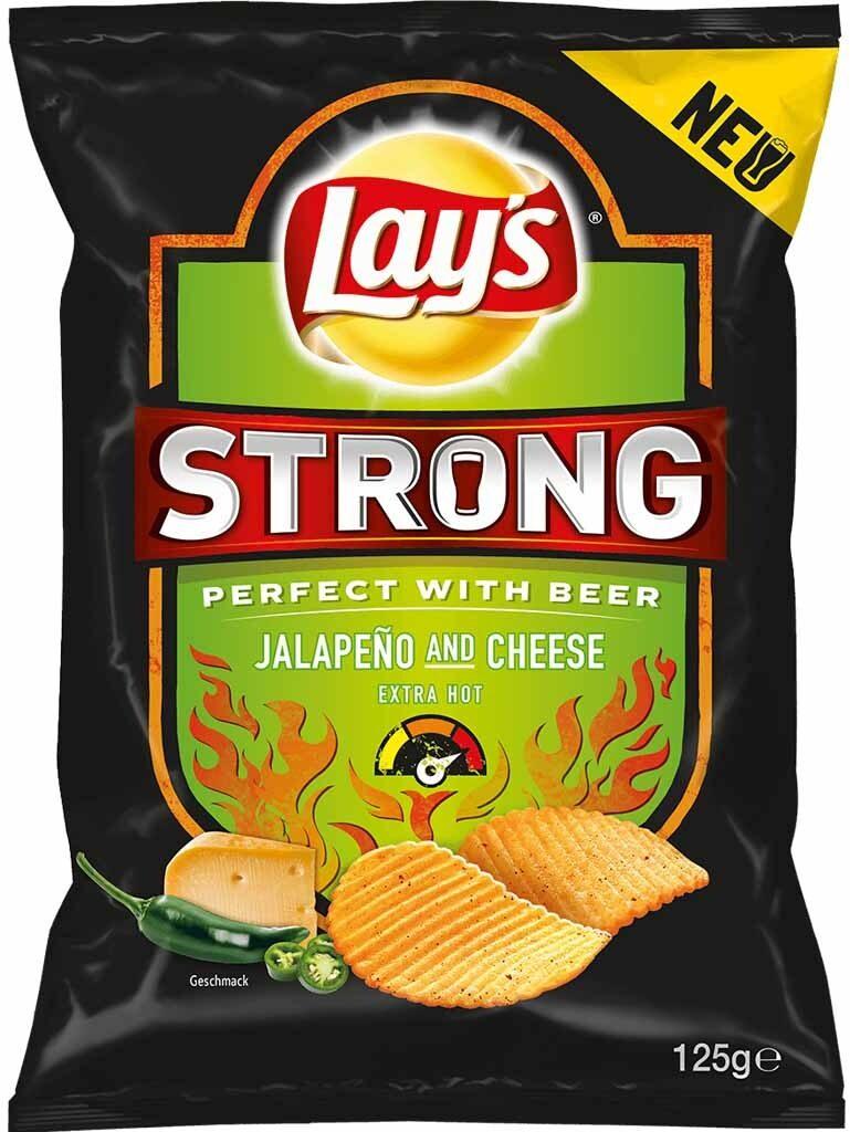 Kartoffelchips - Jalapeño & Cheese - Produkt - de