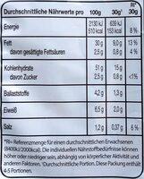 Kartoffelchips - Jalapeño & Cheese - Nährwertangaben - de