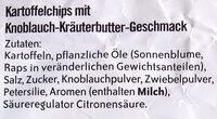 Kräuterbutter - Ingrédients - de
