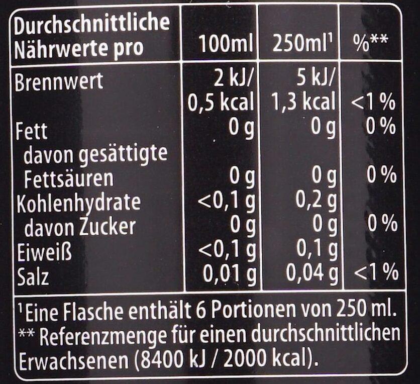 Pepsi Max - Voedingswaarden - de
