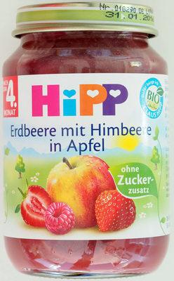 Erdbeere mit Himbeere in Apfel  ( Nach dem 4. Monat ) - Product