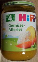 Gemüse Allerlei - Produkt