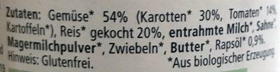 Gemüse-Risotto - Ingredients - de