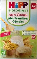 Mes premières céréales - Produit - fr