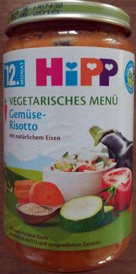 Vegetarisches Menü Gemüse-Risotto - Produkt