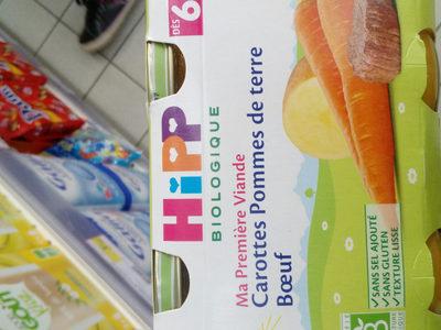 Carottes Pommes De Terre B?uf - Product