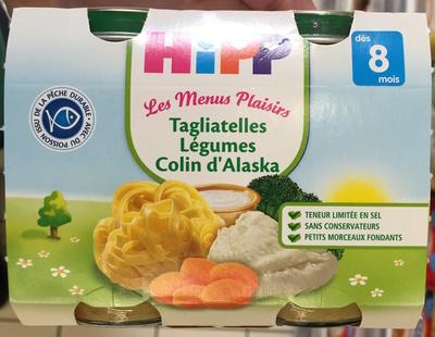 Tagliatelles Légumes Colin d'Alaska - Produit