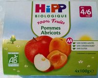 Compote Pommes Abricots - Product
