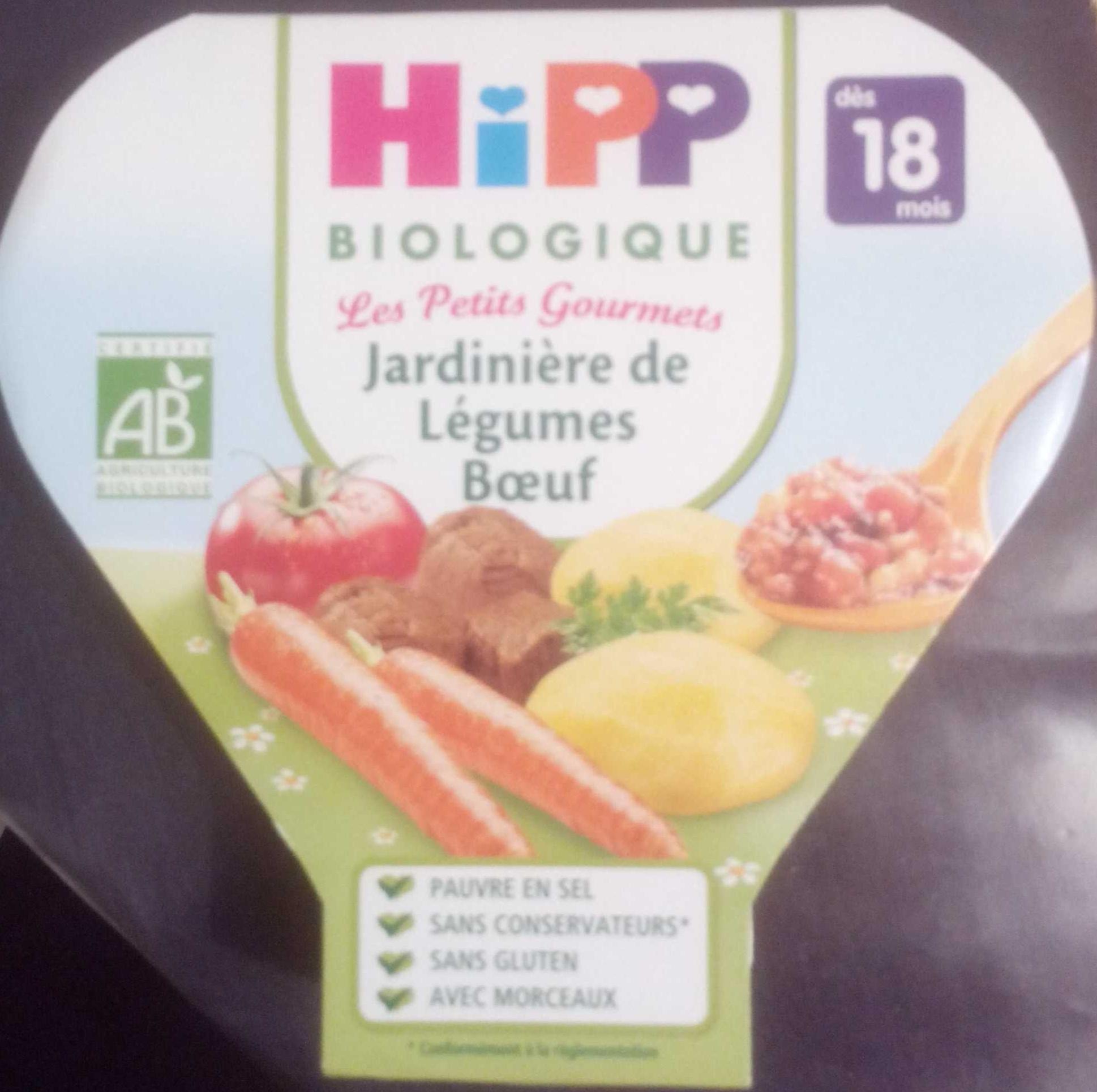 Jardinière de Légumes Bœuf biologique - Prodotto - fr