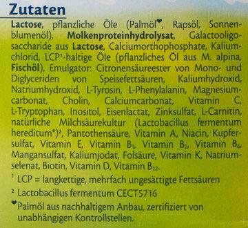 HiPP HA Combiotik Pre - Ingrédients - de