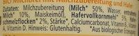Hipp Gute Nacht, Haferbrei Pur - Ingredients