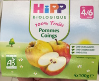 100% fruits Pommes Coings - Product