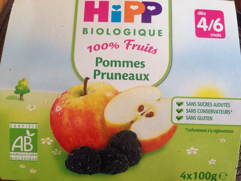 100% Fruits Pommes Pruneaux - Product - fr
