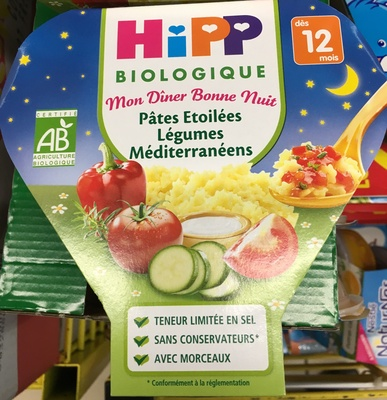 Pâtes Etoilées Légumes Méditerranéens - Product