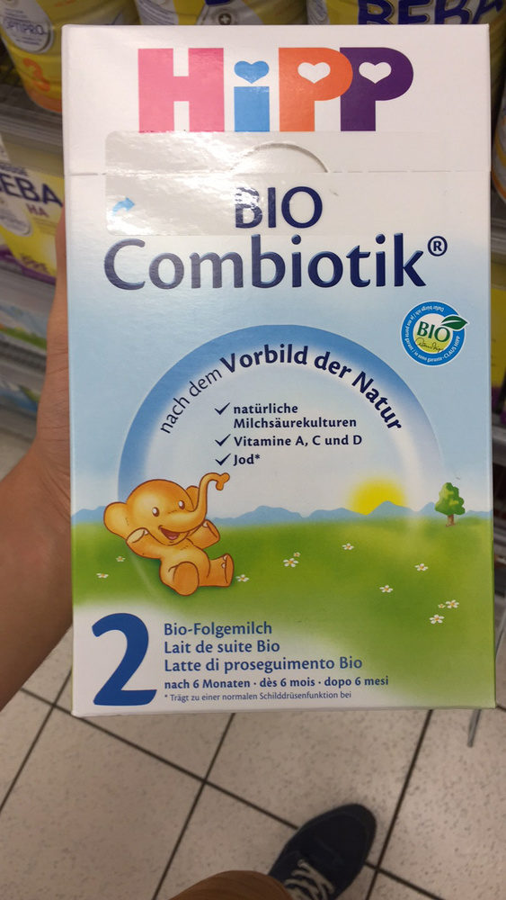 BIO Combiotik 2 Lait de suite Bio - Produit - fr