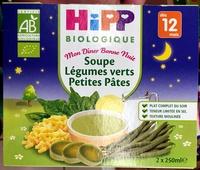 Soupe Légumes verts Petites pâtes - Product