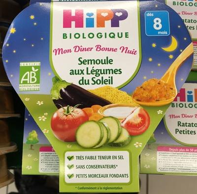 Semoule aux légumes du Soleil - Product