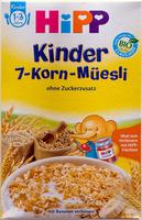 Kinder 7-Korn-Müesli - Produkt