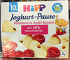 Joghurt-Pause Himbeere in Apfel-Banane - Product