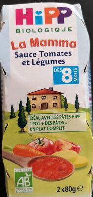 La Mamma Sauce Tomates et Légumes - Produit
