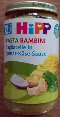 Pasta Bambini Tagliatelle in Spinat-Käse-Sauce - Produkt