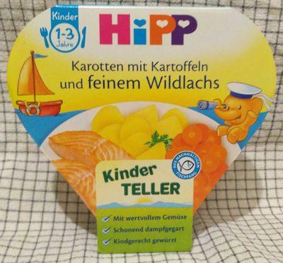 Hipp Karotten Mit Kartoffeln Und Feinem Wildlachs - Product