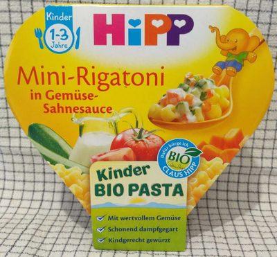 Hipp Mini-rigatoni In Gemüse-sahnesauce Kinder Bio Pasta - Produkt