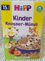 Kinder Knsuper Müsli - Produkt
