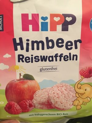 Hipp Himbeer Reiswaffeln - Produkt