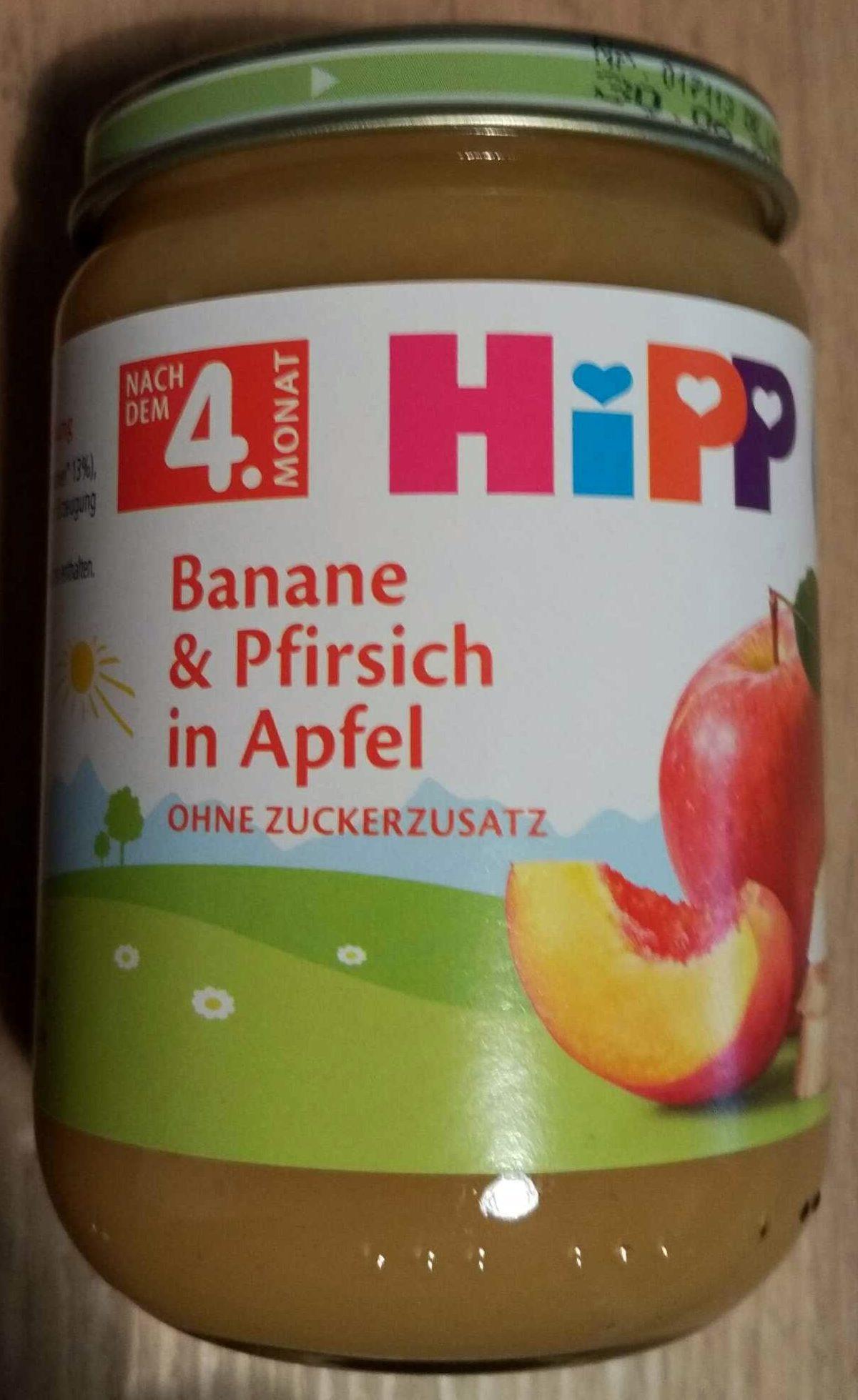 Banane & Pfirsich in Apfel - Produkt