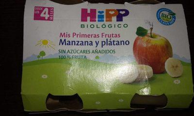 Mes premiers fruits pomme et banane - Producto