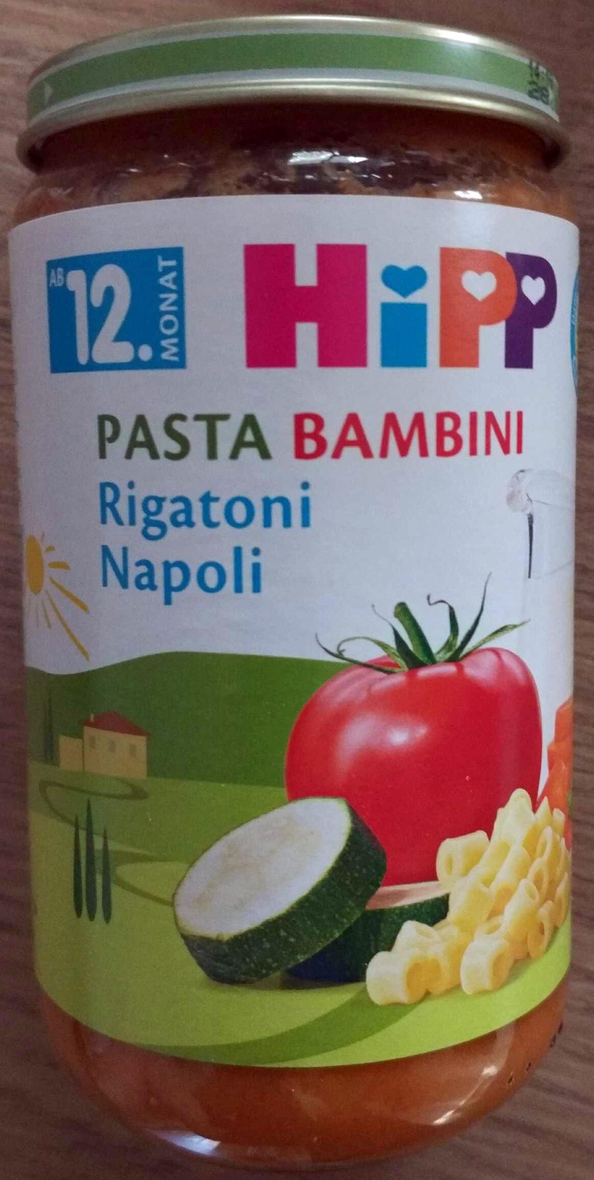 Pasta Bambini Rigatoni Napoli - Produkt
