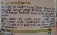 Couscous aux légumes - Ingredienti - fr