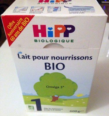 Lait pour nourrissons BIO 1 - Produit