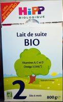 Lait de suite Bio 2 - Product - fr