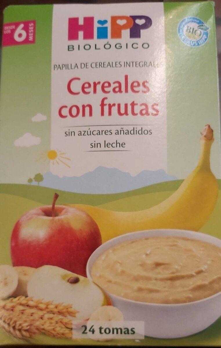 papilla de cereales integrales con frutas - Prodotto - es