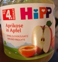 Aprikose in Apfel - Produkt