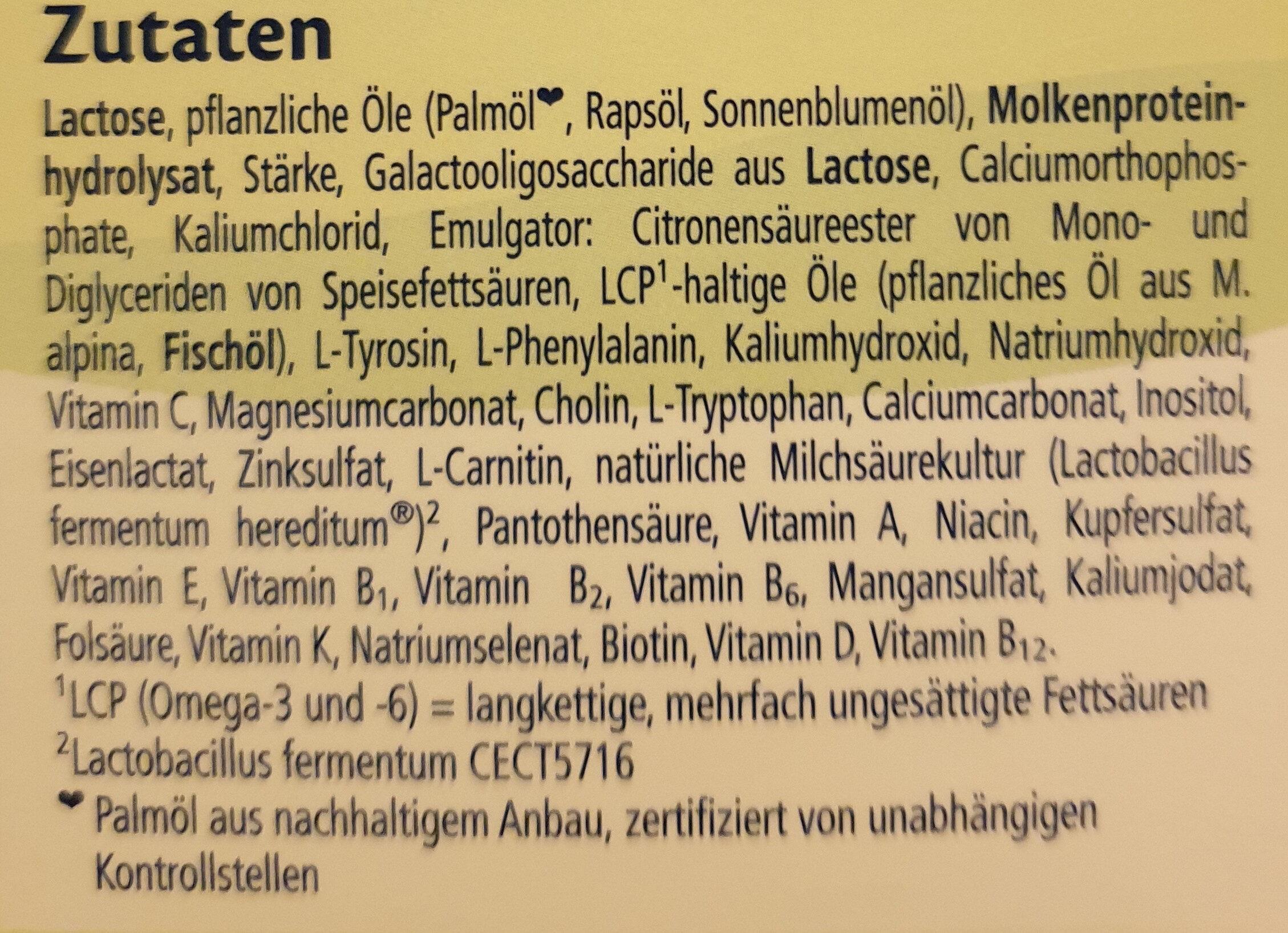 HiPP HA COMBIOTIK - Zutaten - de