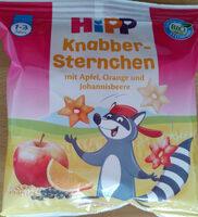 Knabber-Sternchen mit Apfel, Orange und Johannisbeere - Product