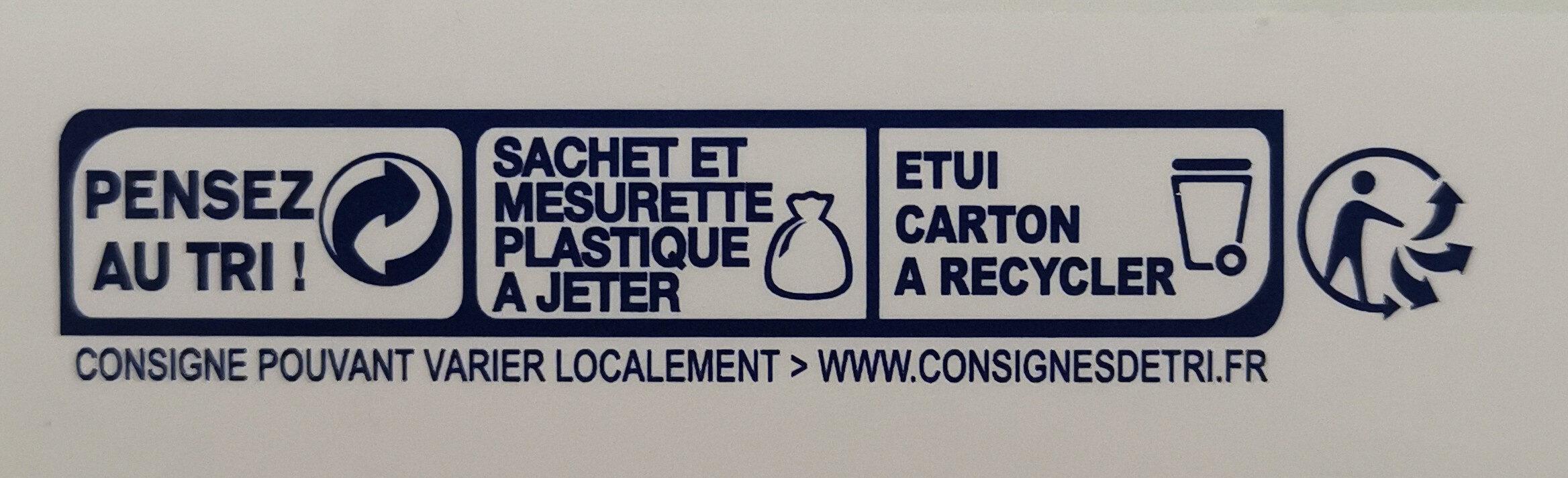 Lait de suite - Istruzioni per il riciclaggio e/o informazioni sull'imballaggio - fr