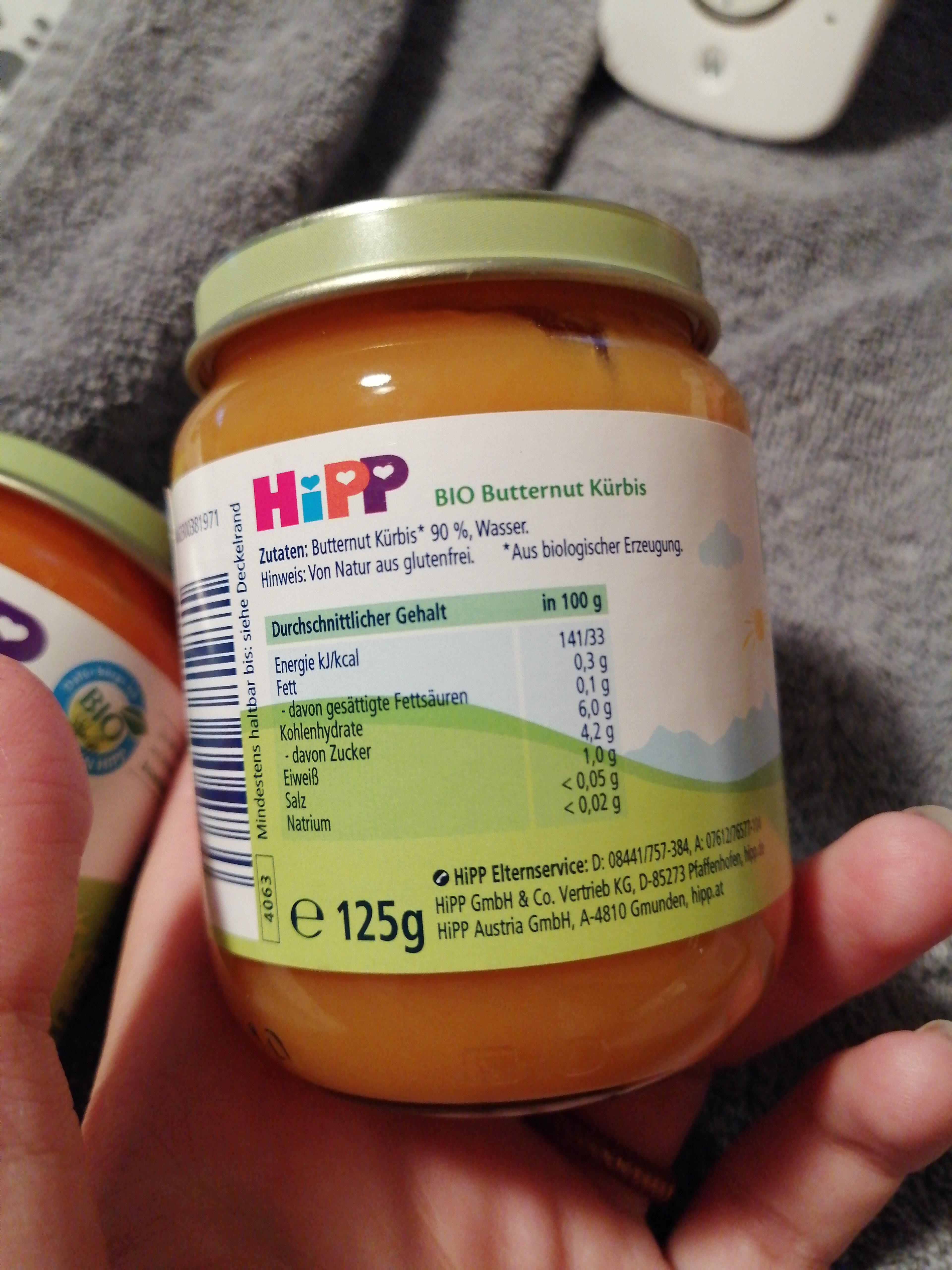 butternut Kürbis - Ingredients - de