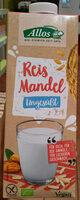 Reis Mandel ungesüßt - Product - en