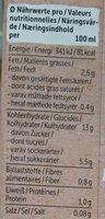 Reis Mandel ungesüßt - Nutrition facts - de