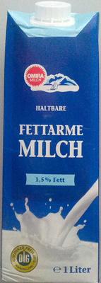 Haltbare fettarme Milch - Produkt