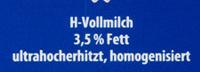 Omira H-Vollmilch - Ingredienti - de