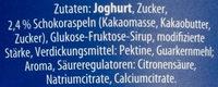 Joghurt Stracciatella - Inhaltsstoffe