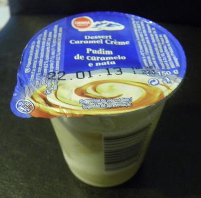 Dessert crème caramel - Product - fr