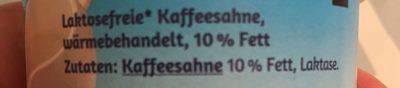 Kaffesahne - Ingrédients - fr